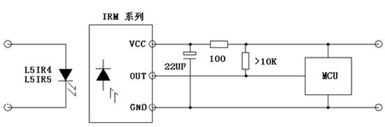 红外38k载波电路图